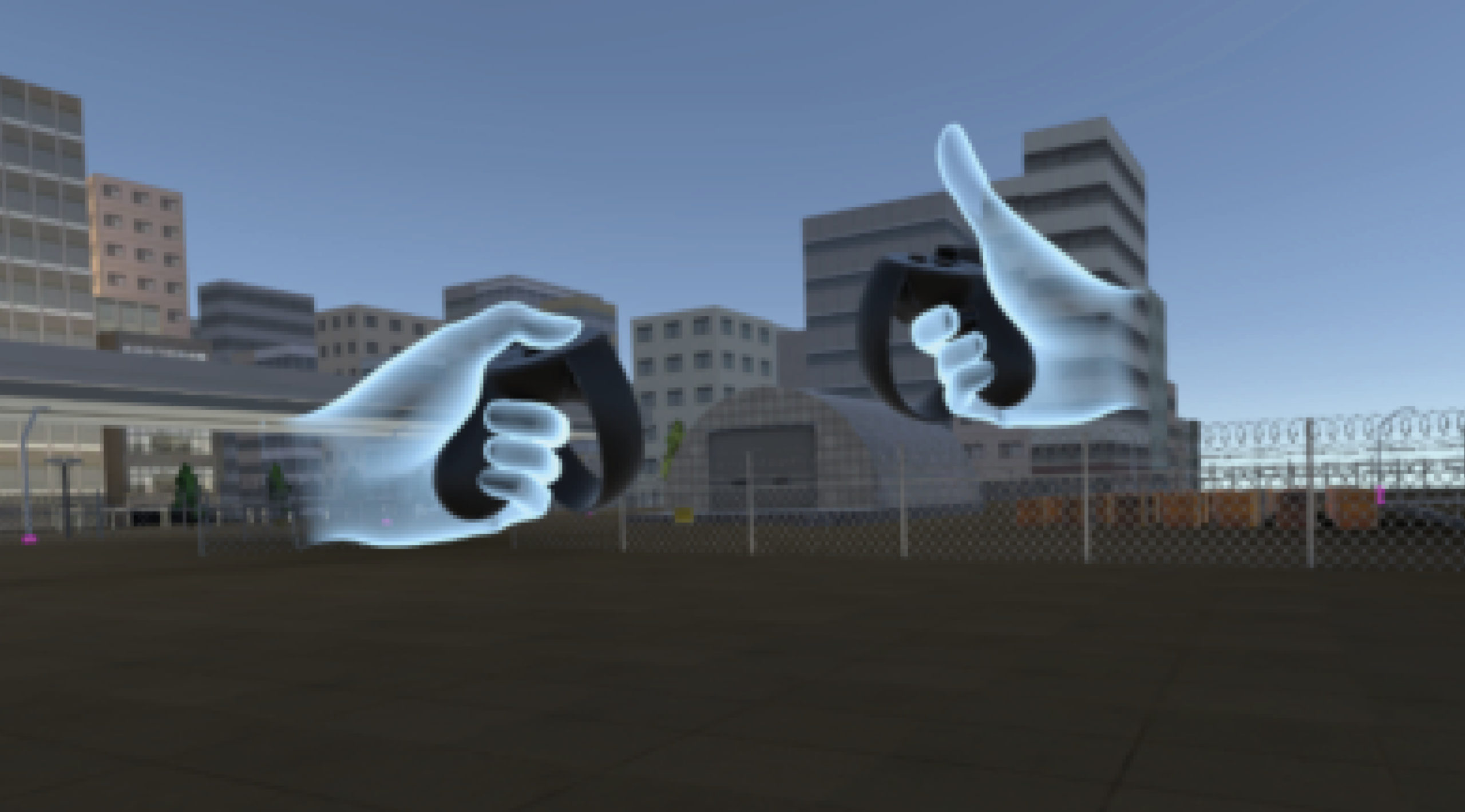 virtual reality hypothetical facilities augmented reality physical security